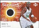 2005/06 Upper Deck Rookie Debut Sizzling Swatches #PP Paul Pierce