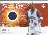 2005/06 Upper Deck Rookie Debut Sizzling Swatches #SF Steve Francis