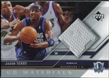 2005/06 Upper Deck UD Materials #JT Jason Terry