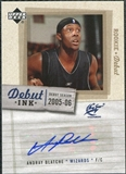 2005/06 Upper Deck Rookie Debut Ink #BL Andray Blatche Autograph
