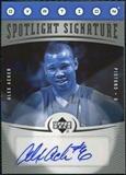 2006/07 Upper Deck Ovation Spotlight Signature #AA Alex Acker Autograph