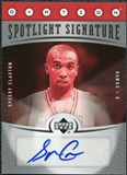 2006/07 Upper Deck Ovation Spotlight Signature #SC Speedy Claxton Autograph