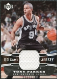2004/05 Upper Deck UD Game Jerseys #TP Tony Parker
