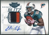2011 Panini Plates and Patches Rookie Blitz Autograph Materials #6 Clyde Gates Autograph /25