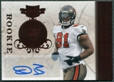 2011 Panini Plates and Patches #121 Da'Quan Bowers RC Autograph /150