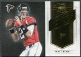 2011 Panini Plates and Patches Honors #19 Matt Ryan /249