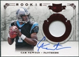 2011 Panini Plates and Patches #201 Cam Newton RC Jersey Autograph /299