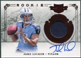 2011 Panini Plates and Patches #206 Jake Locker Jersey Autograph /299