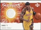 2005/06 Upper Deck Rookie Debut Sizzling Swatches #JS Josh Smith