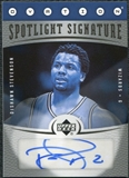 2006/07 Upper Deck Ovation Spotlight Signature #DS DeShawn Stevenson Autograph