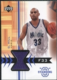 2003/04 Upper Deck Standing O Swatches #GHPH Grant Hill