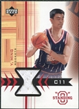 2003/04 Upper Deck Standing O Swatches #YMPH Yao Ming
