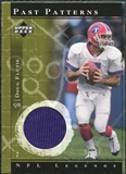 2001 Upper Deck Legends Past Patterns Jerseys #PPDF Doug Flutie