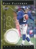 2001 Upper Deck Legends Past Patterns Jerseys #PPKC Kerry Collins