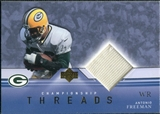 2001 Upper Deck Championship Threads #CTAF Antonio Freeman