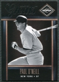 2011 Panini Limited Greats #7 Paul O'Neill /299