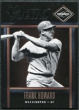 2011 Panini Limited Greats #29 Frank Howard /299
