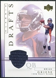 2001 Upper Deck Classic Drafts Jerseys #BGCD Brian Griese