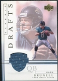 2001 Upper Deck Classic Drafts Jerseys #MBCD Mark Brunell