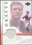 2001 Upper Deck Classic Drafts Jerseys #TCCD Tim Couch