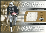 2001 Upper Deck Legends Memorable Materials #MMED Eric Dickerson SP* /150