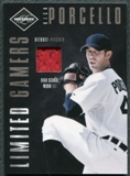 2011 Panini Limited Gamers Caps #7 Rick Porcello /99
