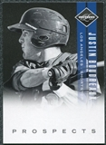 2011 Panini Limited Prospects #21 Justin Boudreaux /249