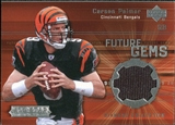 2004 Upper Deck UD Diamond All-Star Future Gems Jersey #FGCP Carson Palmer