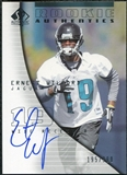 2004 Upper Deck SP Authentic #165 Ernest Wilford Autograph /990