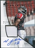 2004 Upper Deck SP Authentic #194 Michael Jenkins Jersey Autograph /799