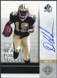 2004 Upper Deck SP Authentic Scripts for Success Autographs #SSDV Devery Henderson Autograph
