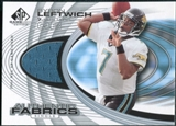 2004 Upper Deck SP Game Used Edition Authentic Fabric #AFBL Byron Leftwich