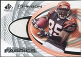 2004 Upper Deck SP Game Used Edition Authentic Fabric #AFCJ Chad Johnson