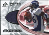 2004 Upper Deck SP Game Used Edition Authentic Fabric #AFCL Clinton Portis