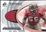 2004 Upper Deck SP Game Used Edition Authentic Fabric #AFDB Derrick Brooks