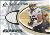 2004 Upper Deck SP Game Used Edition Authentic Fabric #AFDE Deuce McAllister