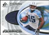 2004 Upper Deck SP Game Used Edition Authentic Fabric #AFDK Derrick Mason
