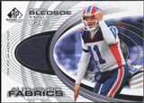 2004 Upper Deck SP Game Used Edition Authentic Fabric #AFDR Drew Bledsoe
