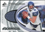 2004 Upper Deck SP Game Used Edition Authentic Fabric #AFHA Matt Hasselbeck