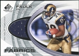 2004 Upper Deck SP Game Used Edition Authentic Fabric #AFMF Marshall Faulk