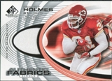 2004 Upper Deck SP Game Used Edition Authentic Fabric #AFPH Priest Holmes