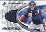2004 Upper Deck SP Game Used Edition Authentic Fabric #AFRG Rex Grossman