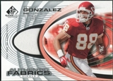 2004 Upper Deck SP Game Used Edition Authentic Fabric #AFTG Tony Gonzalez