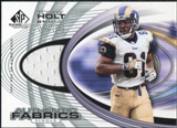 2004 Upper Deck SP Game Used Edition Authentic Fabric #AFTH Torry Holt