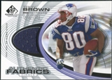 2004 Upper Deck SP Game Used Edition Authentic Fabric #AFTY Troy Brown