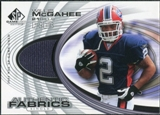 2004 Upper Deck SP Game Used Edition Authentic Fabric #AFWM Willis McGahee