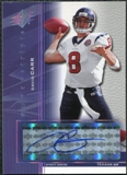 2004 Upper Deck SPx Super Scripts Autographs #SSDC David Carr Autograph