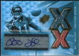 2004 Upper Deck SPx Spectrum Gold #209 Reggie Williams Jersey Autograph /25