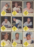 1963 Fleer Baseball Near Complete Set (EX) (No Checklist)