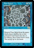 Magic the Gathering Urza's Saga Single Time Spiral - MODERATE PLAY (MP)
